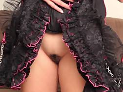 submissive masked girl drilled