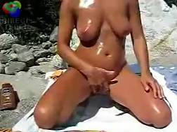 oiled naked sexual wife