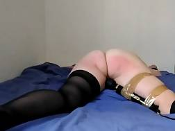 submissive nymph taped vibro