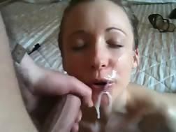 beautiful girlfriend gets face