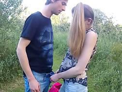 skinny teen enjoys fuck