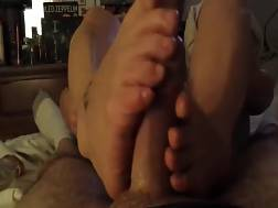 lovely feet wanking big