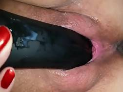 housewife enjoying porn toy