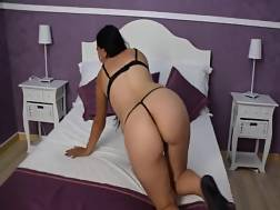 amateur mamma black lingerie