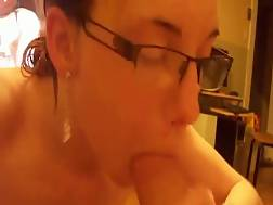 sweet skinny wife sucking