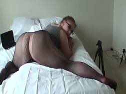 fatty blondie chick black