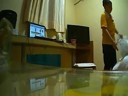 masturbating room watching work