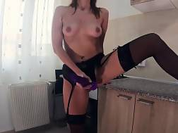 intense orgasm black underwear