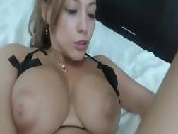 sexy blackhaired puts super