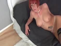 lucky hot redhead nude