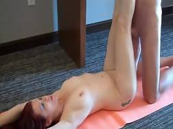 sexual mother enjoys stretch