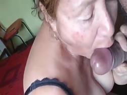 mature prostitute adores blowjob