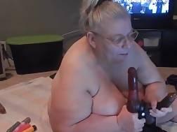 kinky fat granny blowing