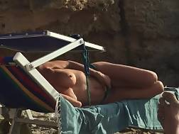 filming topless wife beach