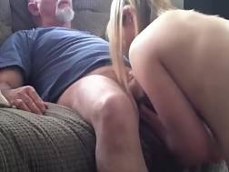 daddy fucks younger female