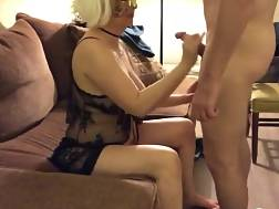 mature masked whore bj