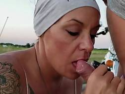 couple almost caught oral