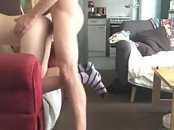 drilling exgirlfriend living room