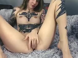 slender girl seduces man