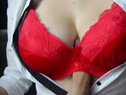 boobjob red bra ends