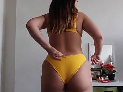 phat ass thong bikini