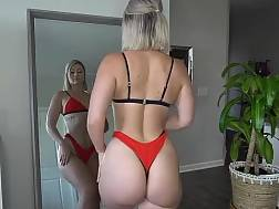 sexual trying thong pawg