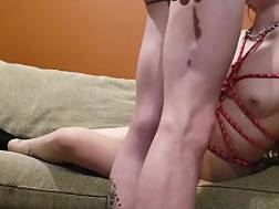 submissive sweetheart spreads legs
