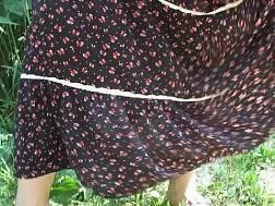 mature brunette mom dress