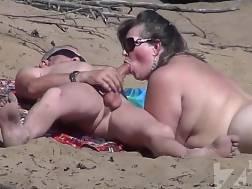 blow job nudist beach
