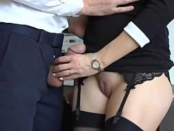 sexual secretary stockings makes