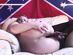 housewife got new dildo