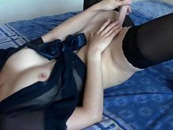 sweet housewife wearing black