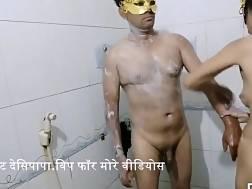 desi indian bhabhi shower